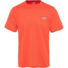 The North Face Reaxion Amp Crew Hardloopshirt korte mouwen Heren oranje